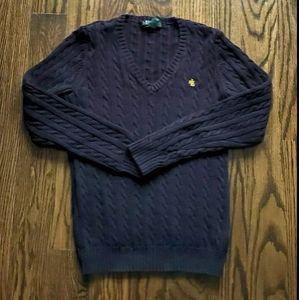 Ralph Lauren Black Knit Sweater Size XS